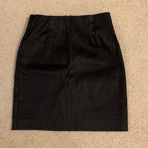 Aritzia black mini skirt